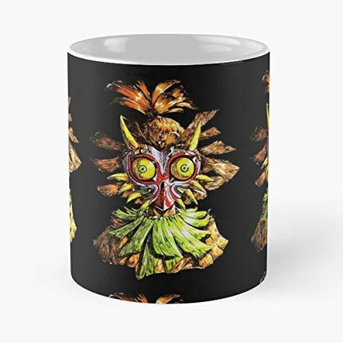 (Majora Link Zelda Legend Of Gift Ceramic Novelty Cup 11 Oz)