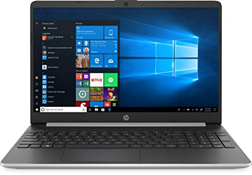 New HP 15.6″ HD Touchscreen Laptop Intel Core i3-1005G1 8GB DDR4 RAM 128GB SSD HDMI Bluetooth 802.11/b/g/n/ac Windows 10 15-dy1731ms Silver