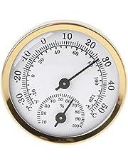 siwetg Indoor Analoge Thermometer Hygrometer Vochtigheid Temperatuurmeter 58mm Huishoudelijke Thermometer met Celsius en Fahrenheit