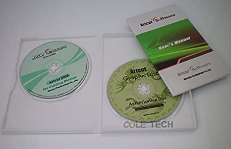 ArtCut Software 2009 Pro para vinilo plotter de corte 9 idiomas 2 cd: Amazon.es: Amazon.es