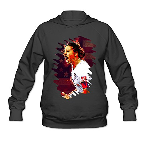 Boxer98 Women's Hooded Sweatshirt Carli Soccer Lloyd Size XL (Worlds Greatest Boxer Costumes)