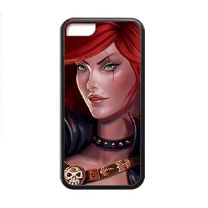 Personalizado Alta Calidad League of Legends Hrad carcasa para iPhone 5C