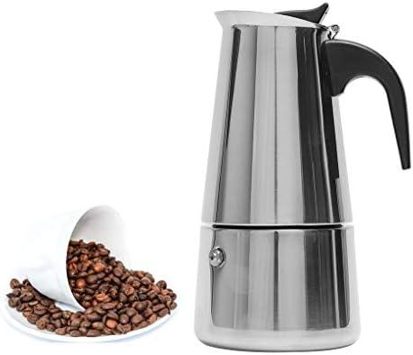Vokmon 300ml Cafetera Italiana Cafetera induccion Espresso en ...