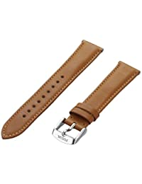 Fossil S181254 18mm Leather Calfskin Brown Watch Strap