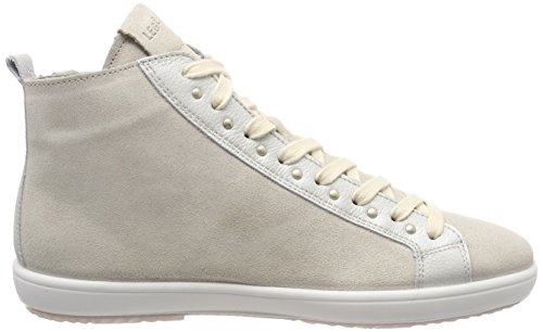 Corda Trapani Beige a Legero Sneaker Alto Collo Donna Rxd0qYw