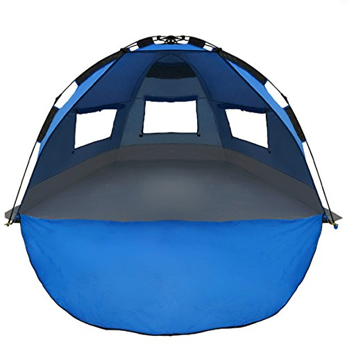 Best Selling EasyGo Shelter - Instant Beach Umbrella Tent Sun Sport Shelter  sc 1 st  Mom Loves Best & The 6 Best Baby Beach Tents for Ultimate Protection (2018 Reviews)