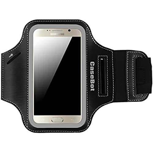 Fintie Samsung Galaxy S7 / S6 / S6 Edge Armband - [CaseBot Sports Armband] With Built in Reflective Strip + Water Sales