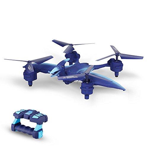 Goolsky FQ777 FQ19W Pterosaur 2.0MP HD Camera Wifi FPV Quadcopter Wearable Gesture Control Selfie Drone RTF