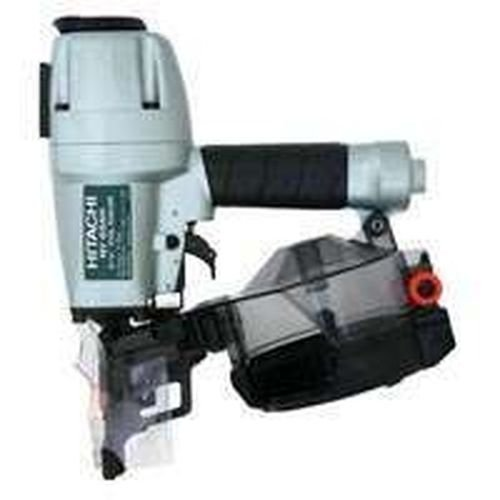 New Hitachi Nv65ah Pneumatic 2 1/2 inch Coil Siding Nailer inch