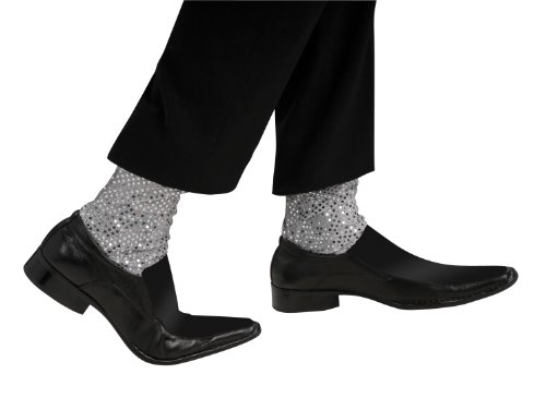 Michael Jackson Costume Accessory, Sparkle Socks (Michael Jackson Adult Costumes)