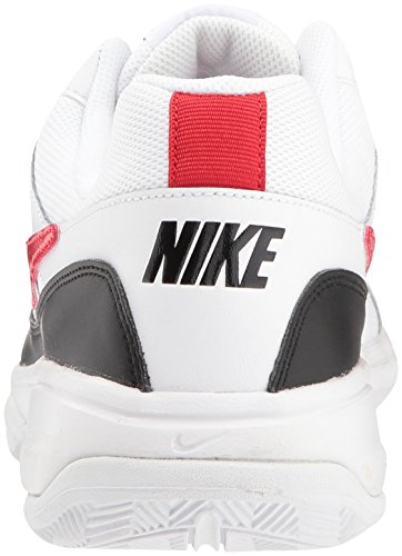 Nike Men's Court Lite Tennis Shoe, White/University red/Black, 7.5 D US by Nike (Image #2)