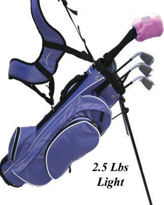 Linksman Golf 9-12 Year Old Girls Right Handed Junior Set w/ Stand Bag, Outdoor Stuffs