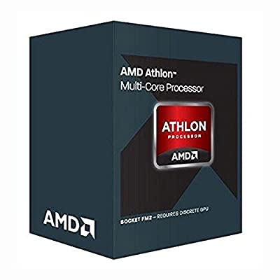 AMD Athlon X4 870K Black Edition with Thermal Solution 3.9 4 Socket FM2+ AD870KXBJCSBX from AMD