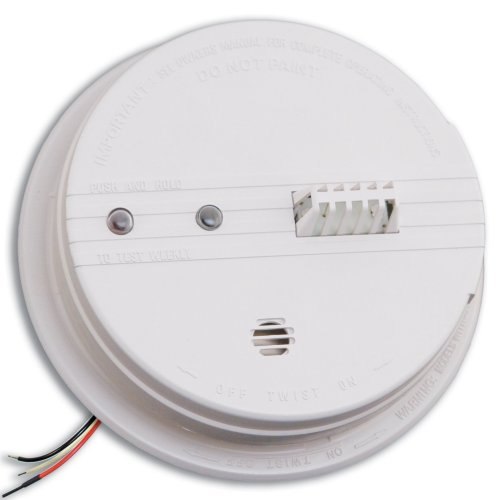 Kidde HD135F Fyrnetics Hardwire Heat Detector with Battery Backup (Heat Sensor)