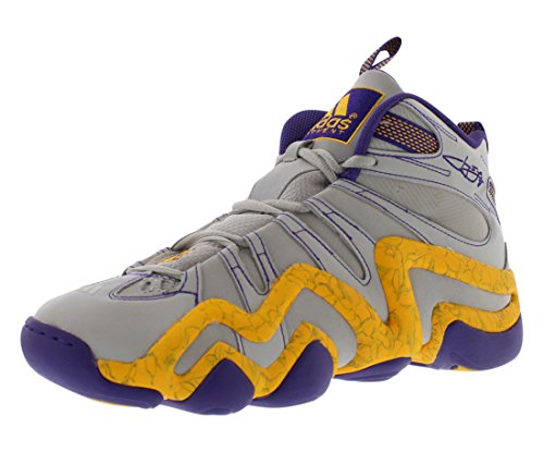adidas Performance Men's Crazy 8 Basketball Shoe,Clear Onix,8.5 M US