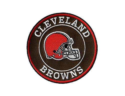 New Cleveland Browns Helmet Iron on Patch ()