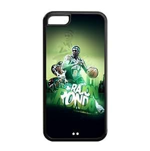 Boston Celtics Rajon Rondo Image Design iPhone 5C TPU Case-by Allthingsbasketball