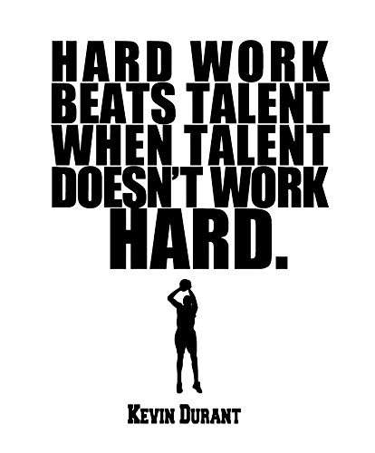 rs Motivational and Determination Quotes of Durant Famous Quotes Wall Art Decals. A Vinyl Wall Decor Made in USA. - White ()