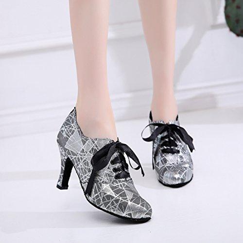 MinitooUK Danse 8 Black de QJ7163 Femme Cm Salon Heel Minitoo agxBqpR6wB