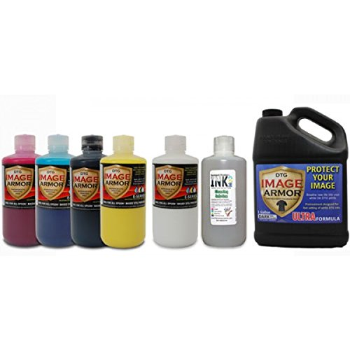 Image Armor E-Series DTG Ink LARGE Change-over Kit by Garment Printer Ink