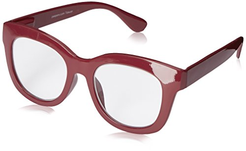 Peepers Women's Center Stage 2297250 Oval Reading Glasses, Berry, ()