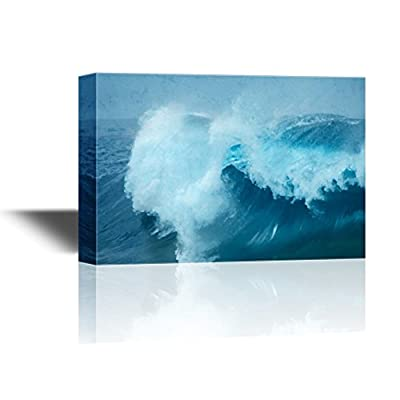 Abstract Seascape with Great Waves on The Sea 16