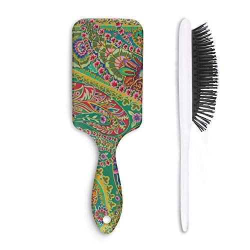 - Paisley Jungle-01 Hair Brush for Adults & Kids,7.5
