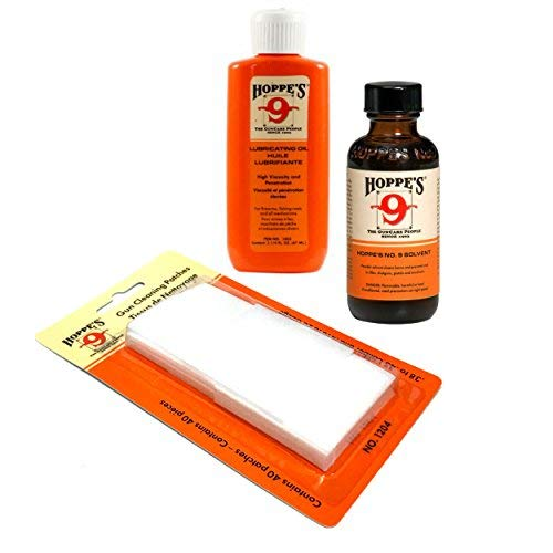 Hoppes Cleaning Kit - Compact Size for Range Bags - Includes - Import It All