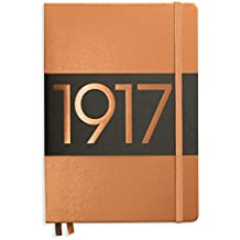 Leuchtturm1917 Medium Hardcover Notebook, 5.75 X 8.25 inches, 249 Dotted Pages, Copper (355680)