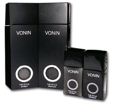 KOREAN COSMETICS, LG Household & Health Care_ VONIN, The Style 2-piece set (The Style After Shave 135ml + The Style Emulsion 135ml) (male set of basic cosmetics, sebum control, moisturizing) [001KR] by LG Household & Health Care ()