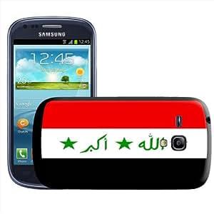Fancy A Snuggle - Carcasa para Samsung Galaxy S3 Mini i8190, diseño de la bandera de Irak