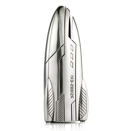 Royal Selangor Hand Finished Explorer Collection Pewter Rocket Coin Box by Royal Selangor (Image #2)