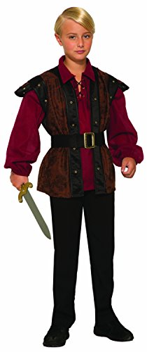 Forum Novelties Renaissance Faire Boy Child's Costume, -
