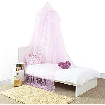 Amazon.com: Home and More Store Princess Bed Canopy - Beautiful ...
