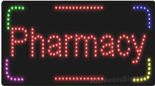 Pharmacy LED Sign Size 12H x 24L x 1D