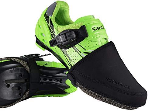 RockBros Kevlar Cycling Bike Shoe Toe Cover Warmer Protector Black 1 Pair