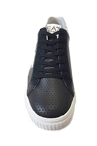 Emporio Armani EA7 scarpe sneakers uomo nuove originale pryde blu Blu