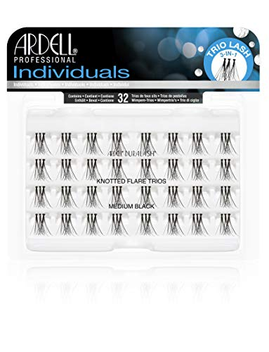 - Ardell Individual Trios Eyelash, Black, Medium