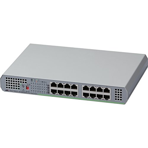 Allied Telesis 16-Port 10/100/1000T Unmanaged Switch With...