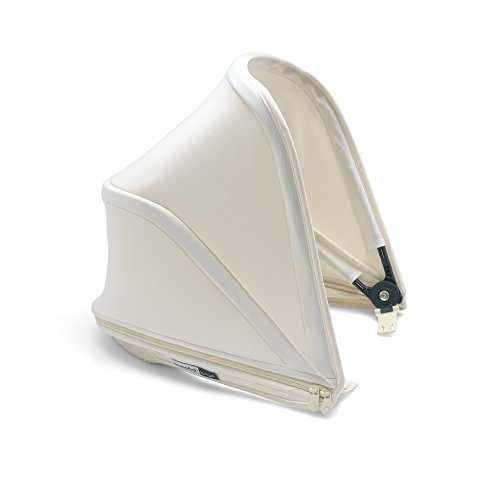 Bugaboo Bee5 Sun Canopy, Fresh White - Extendable Sun Shade for Full Weather Protection, Machine Washable