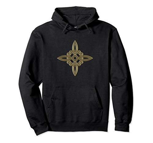 Witch Knot Symbol 4 Elements Celtic Wicca Magic Goth Hoodie