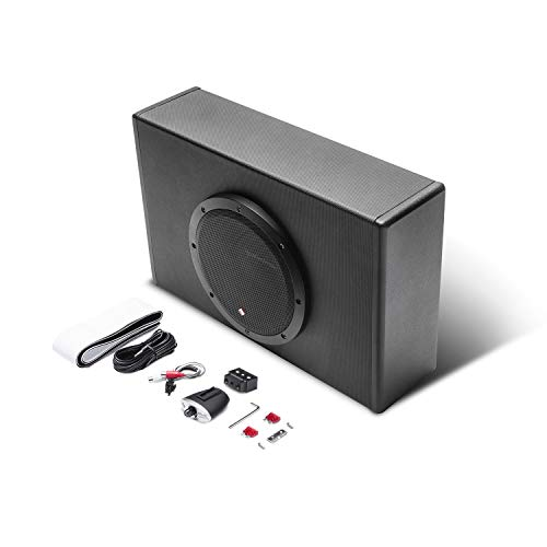 Low Profile Powered Subwoofer - Rockford Fosgate P300-8P Punch 8