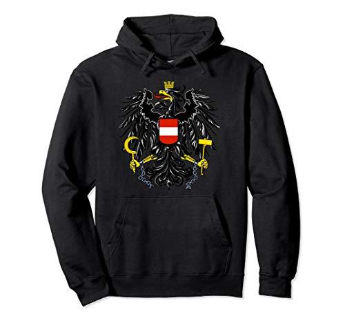 Austria Coat Of Arms Pullover Hoodie Hooded Sweatshirt