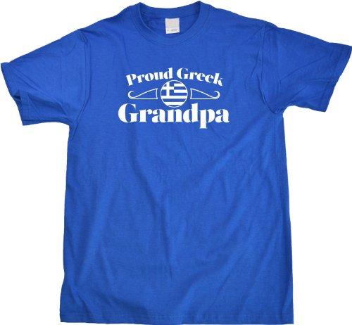 Proud Greek Grandpa | Greece Pride Unisex T-shirt Greece Grandparent Shirt