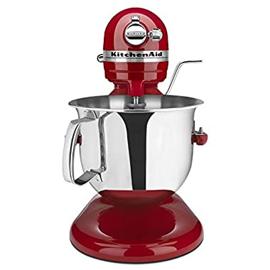 KitchenAid Certified Refurbished RKSM6573ER 6-Qt. Professional Bowl-Lift Stand Mixer - Empire Red