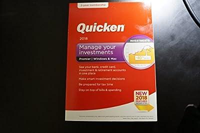 Quicken Premier 2018 - 24 Month Membership For Windows & MAC