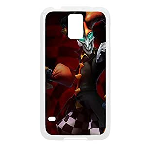 Shaco-001 League of Legends LoL case cover Samsung Galaxy S5 I9600/G9006/G9008 - Plastic White
