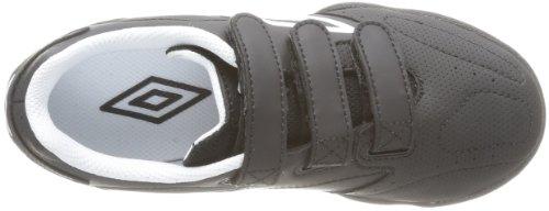 Umbro Vision Sw League Velcro - Zapatillas de deporte para niño Negro (Noir (090 Noir/Blanc))