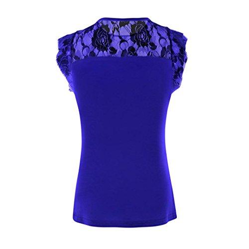 Damen Shirt155 Sanfashion Blu Ballerine Bekleidung Donna w0q55OFCx