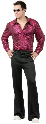 Disco Shirt Adult Costume - X-Large -